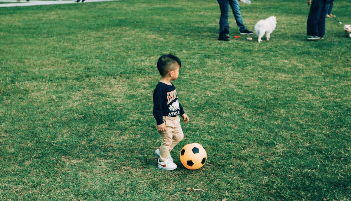 Le sport pour le bébé de plus d'un an