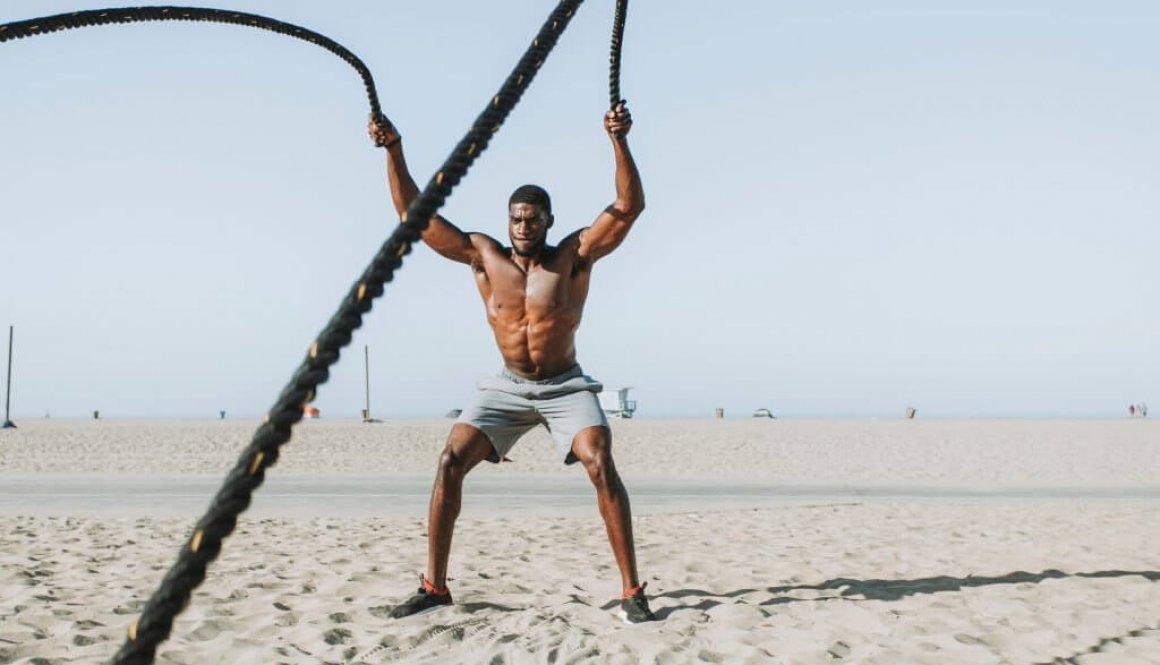 Le Sport dans le sable
